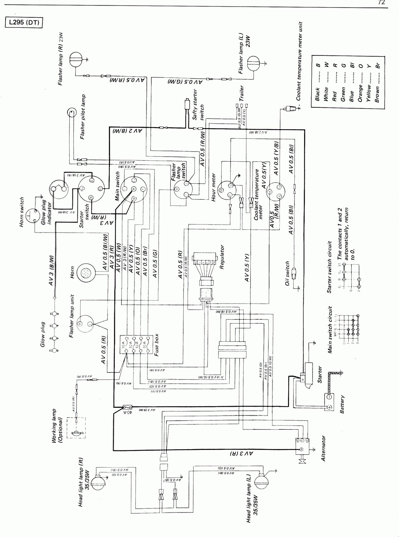Kubota Schematics | Manual E-Books - Kubota B7800 Wiring Diagram