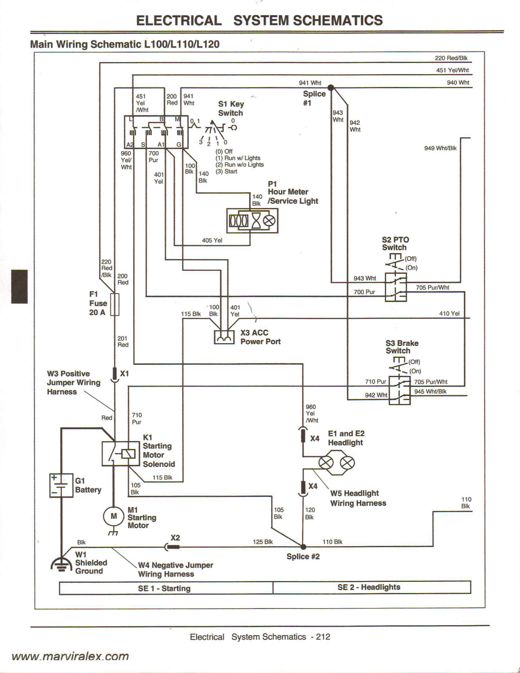 L120 Wiring Diagram - Data Wiring Diagram Schematic - John Deere L120 Wiring Diagram