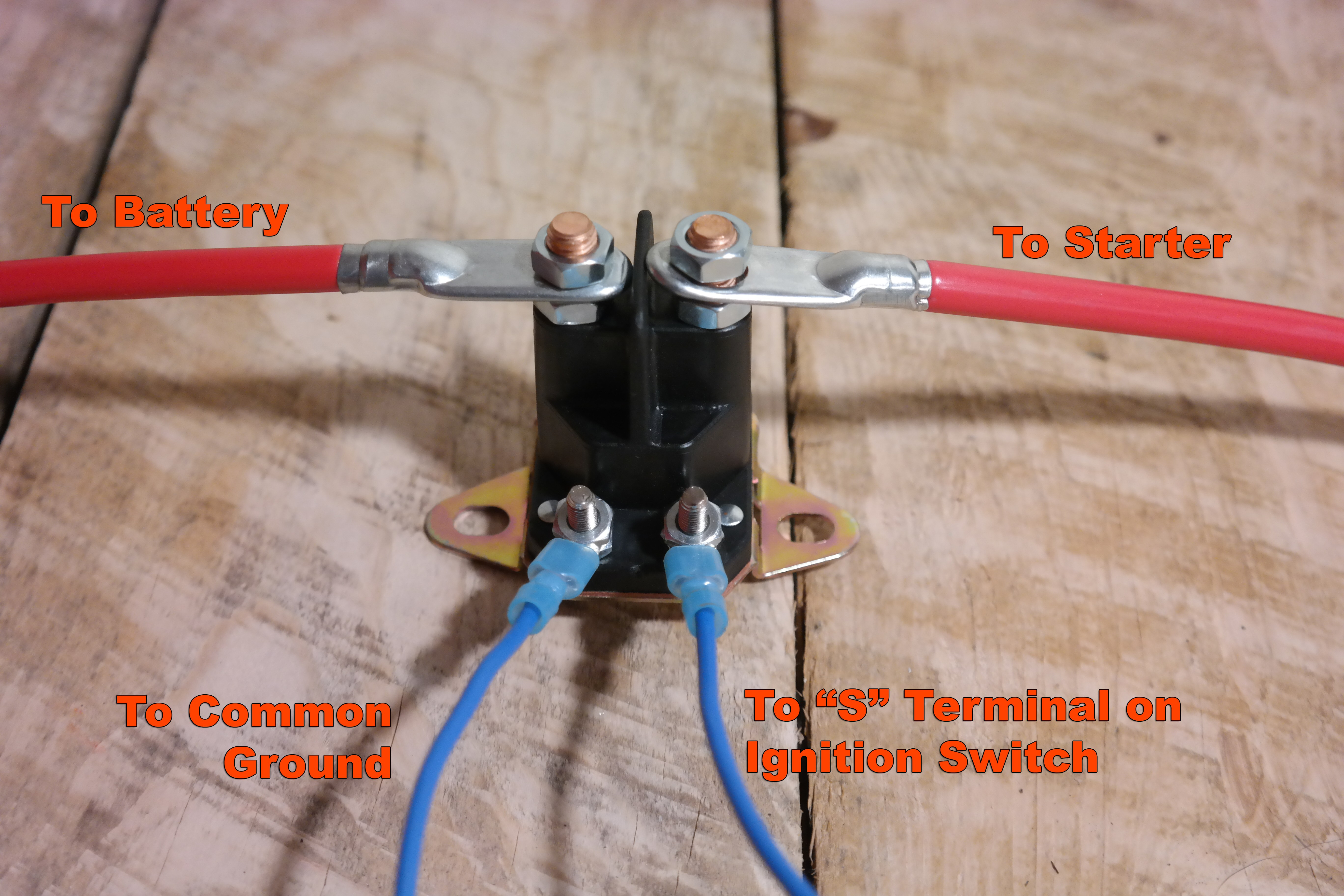 Lawn Mower Solenoid Wiring Diagram | Wiring Library - Riding Lawn Mower Starter Solenoid Wiring Diagram