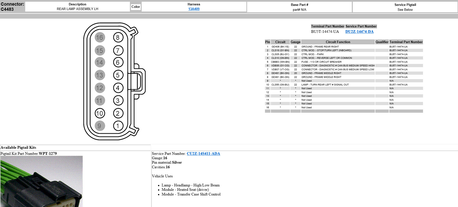 Led & Bliss Tail Light Wiring Diagram? - Ford F150 Forum - Community - Tail Light Wiring Diagram