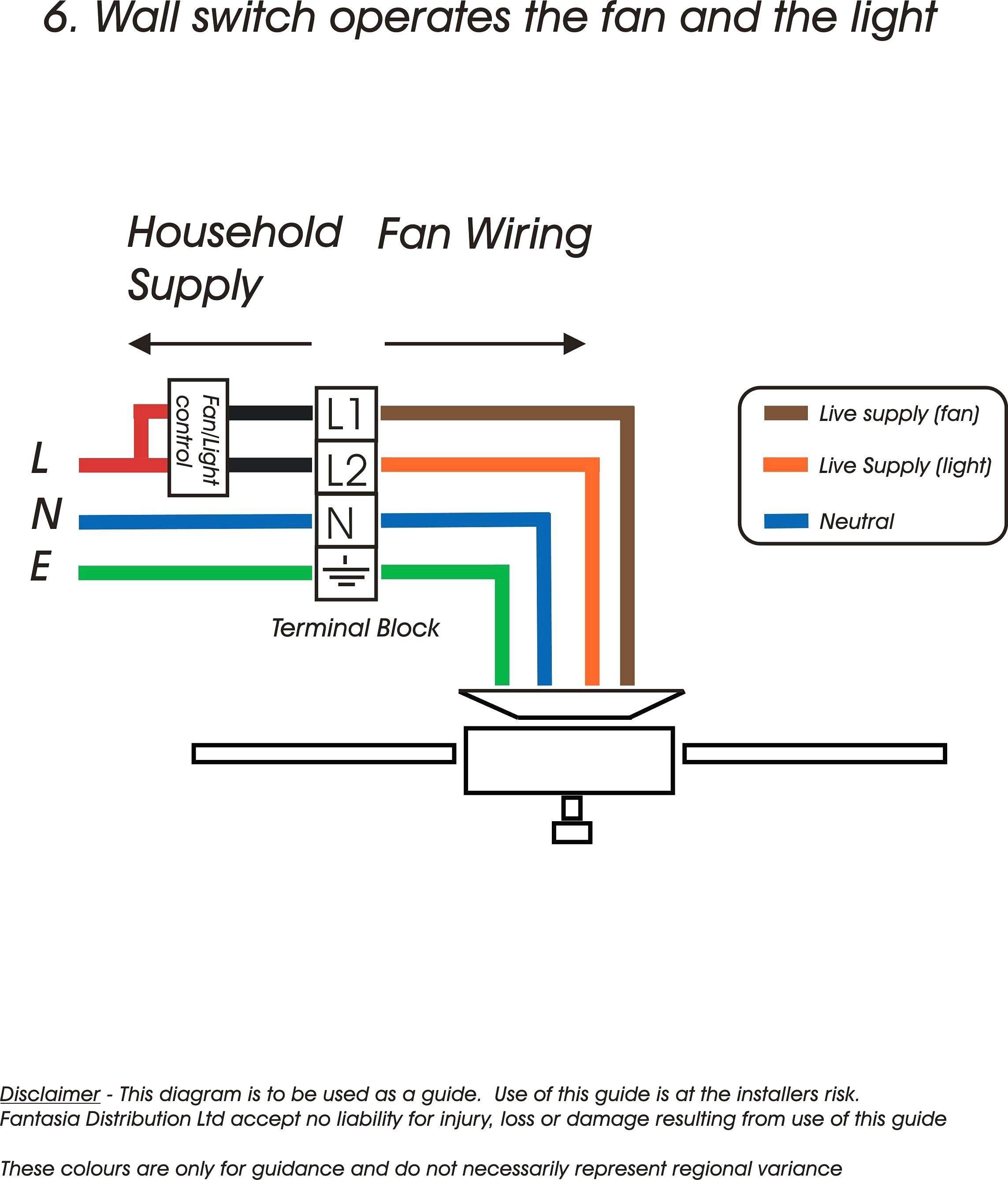 Fluorescent Light Wiring Diagram