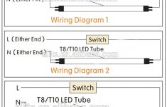 Wiring Diagram For Led Tube Lights