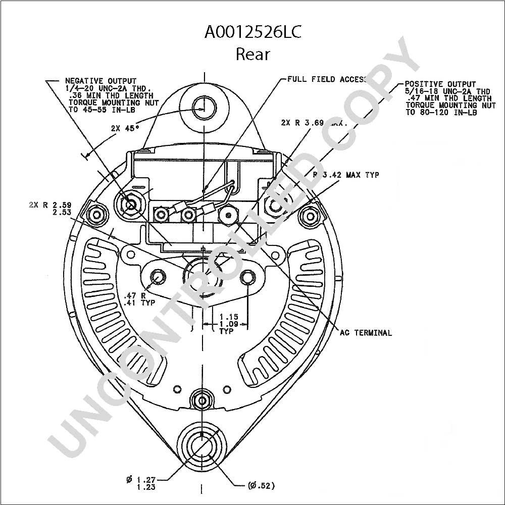 Leece Neville Alternator Wiring Diagram Prestolite | Manual E-Books - Leece Neville Alternator Wiring Diagram