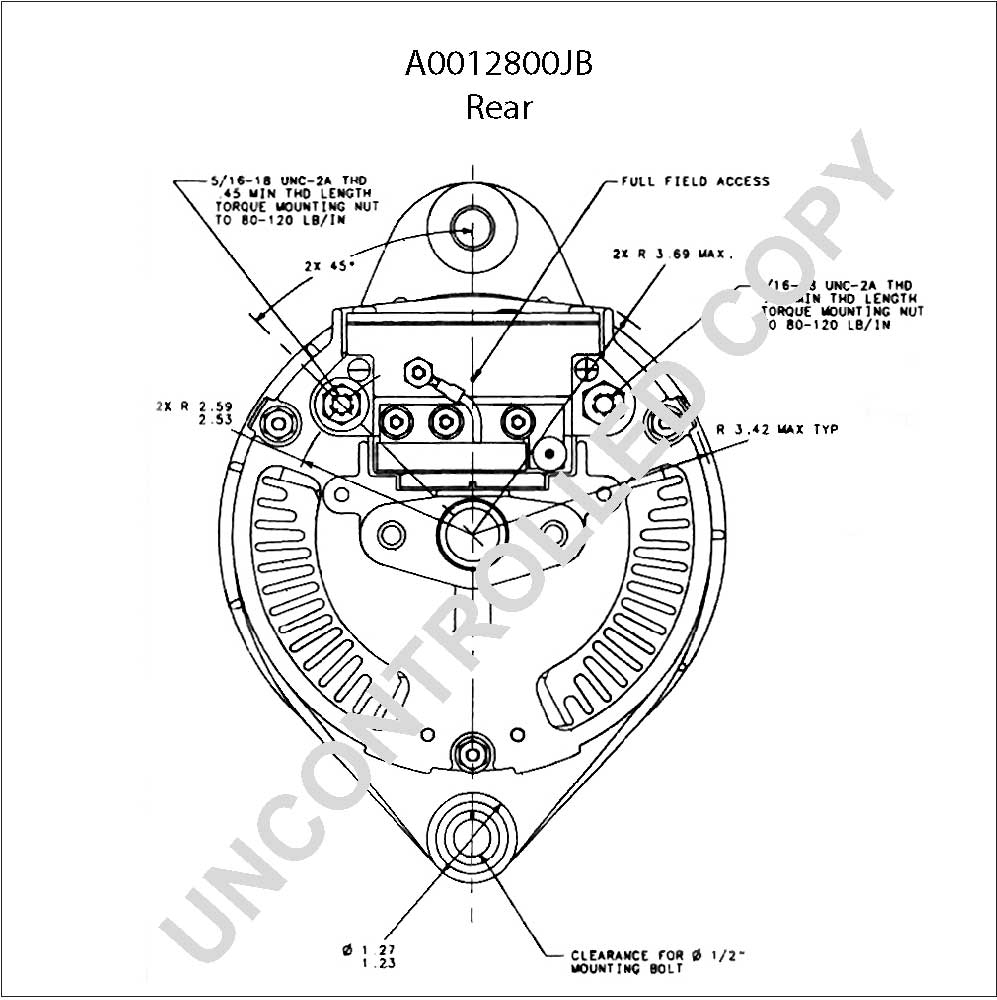 Leece Neville Alternator Wiring Diagram Prestolite | Wiring Diagram - Leece Neville Alternators Wiring Diagram