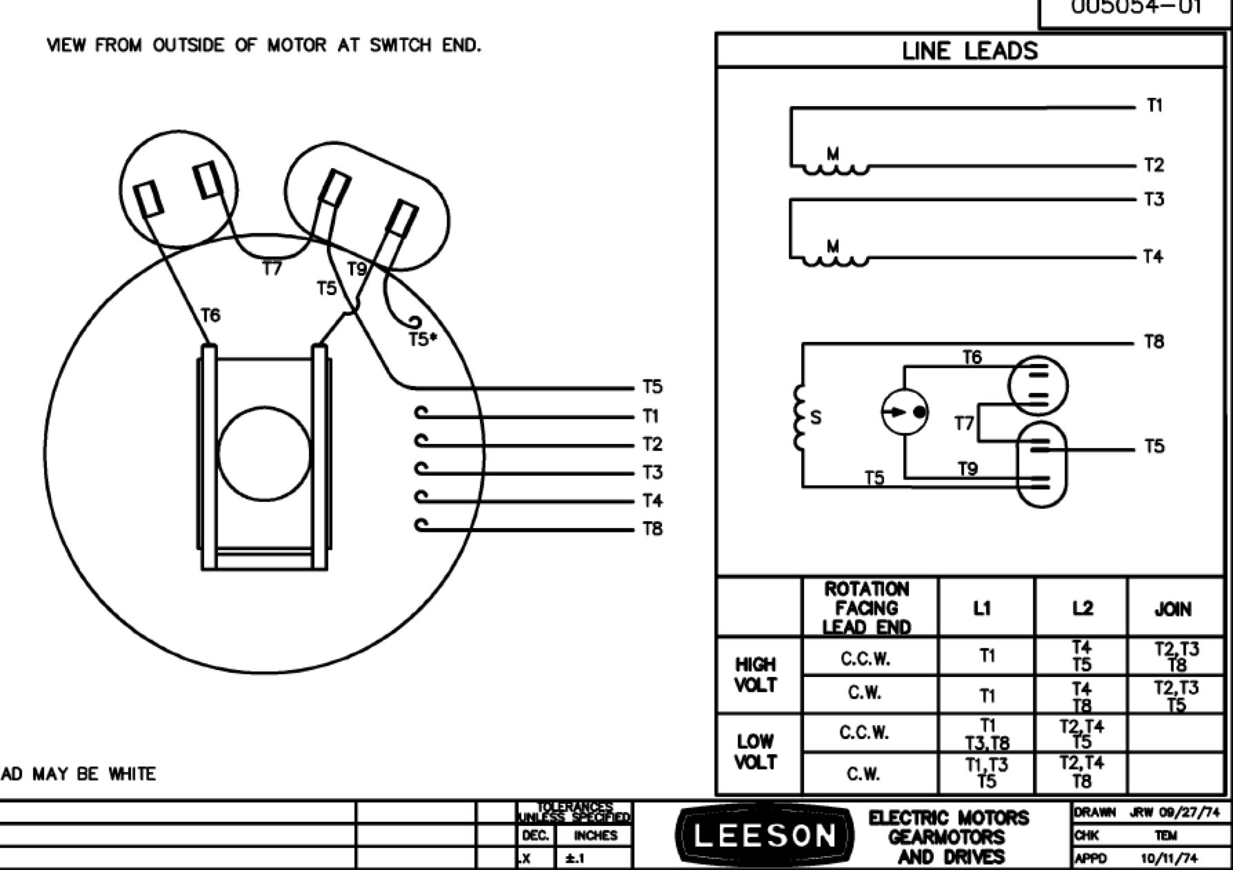 Century Ac Motor Wiring Diagram Manual Guide