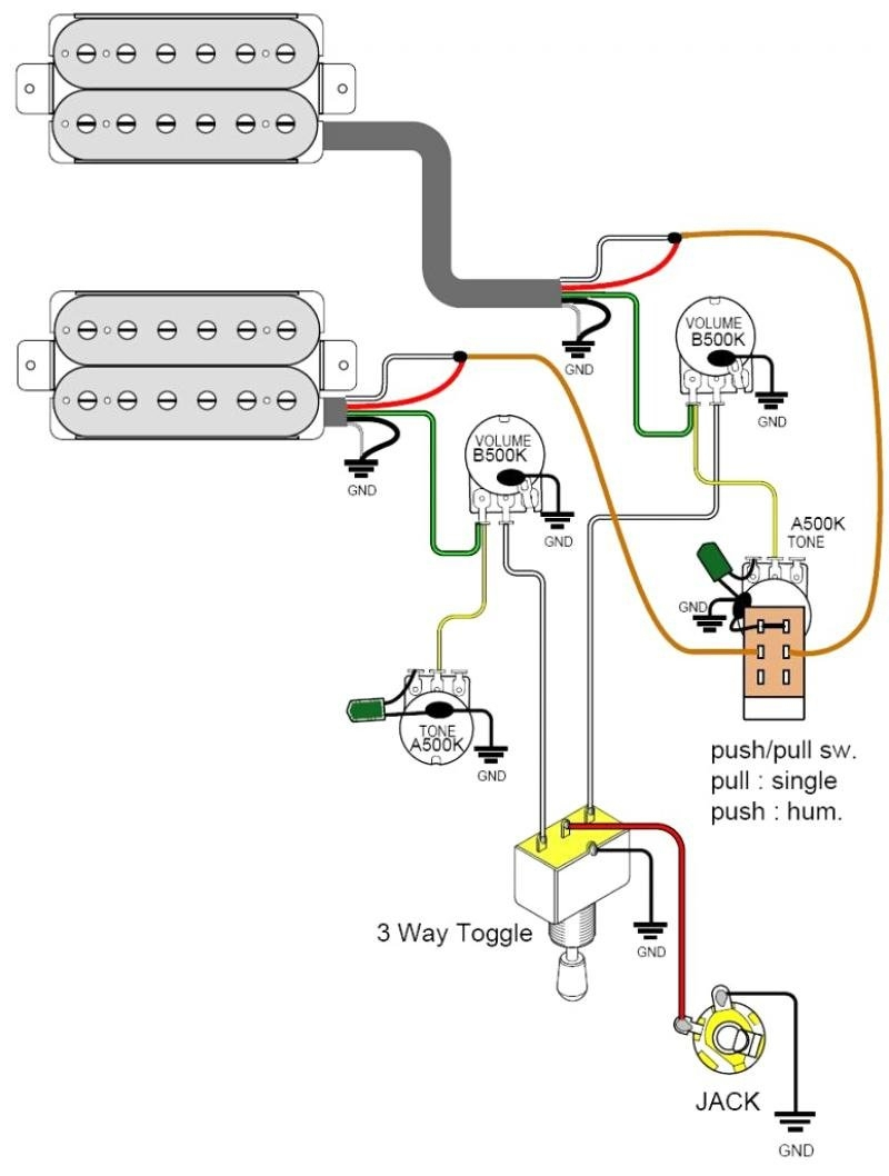 Coil Tap Wiring Diagram Push Pull