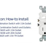 Leviton Presents: How To Install A Combination Device With A Single   Switch Outlet Wiring Diagram