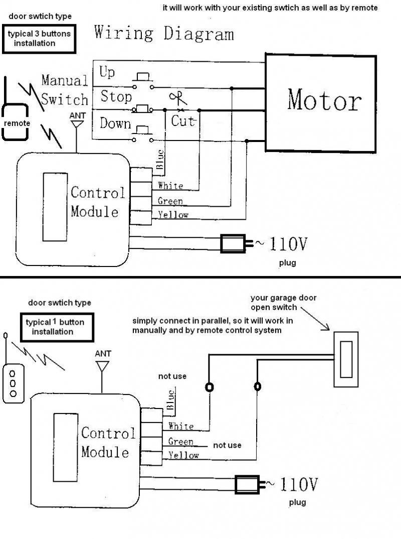 Liftmaster Wiring Diagram Sensors | Manual E-Books - Liftmaster Garage Door Opener Wiring Diagram