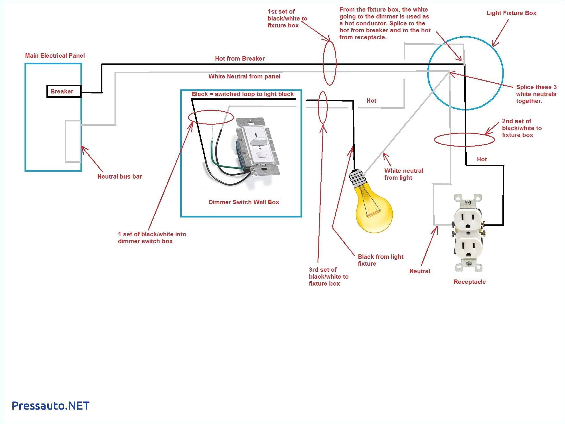 Light Switch Outlet Combo Wiring Diagram Fresh Wiring Diagram Switch - Light Switch Outlet Combo Wiring Diagram