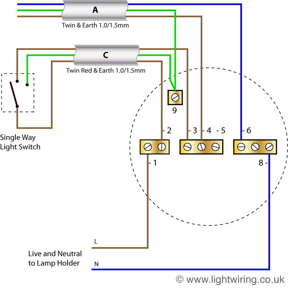 Light Wiring Diagram | Light Wiring - Light Wiring Diagram