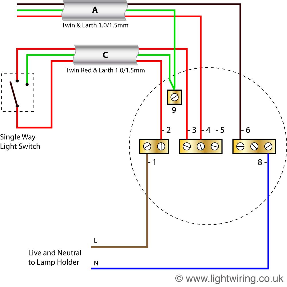 Lighting Wiring Diagram | Light Wiring - 3 Way Light Switch Wiring Diagram