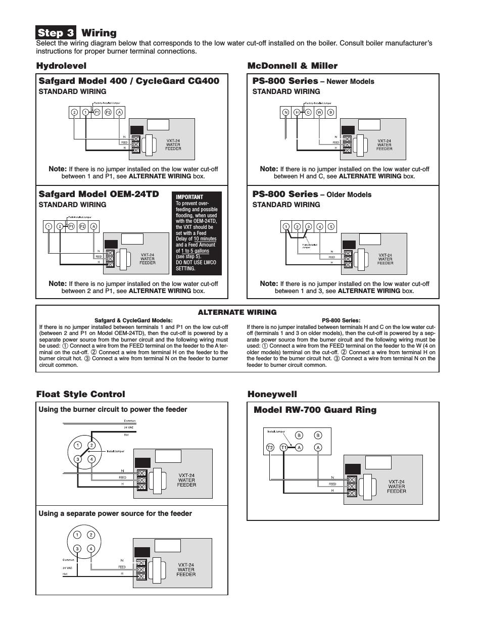 Mcdonnell Miller Low Water Cutoff Wiring Diagram