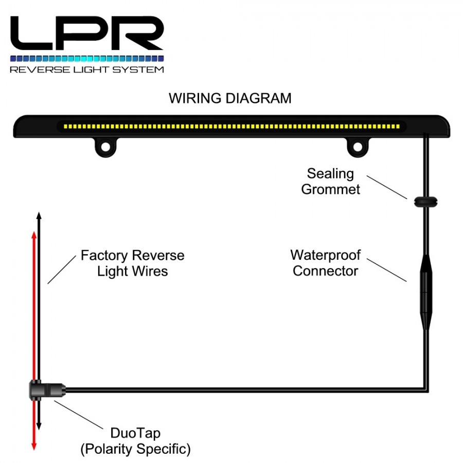 Lpr Led Back Up Light - Reverse Light Wiring Diagram