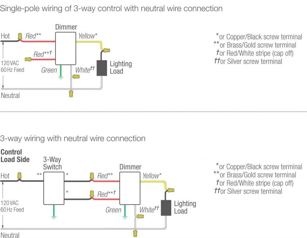 Lutron 3 Way Wiring Diagram | Manual E-Books - Lutron 3 Way Switch Wiring Diagram