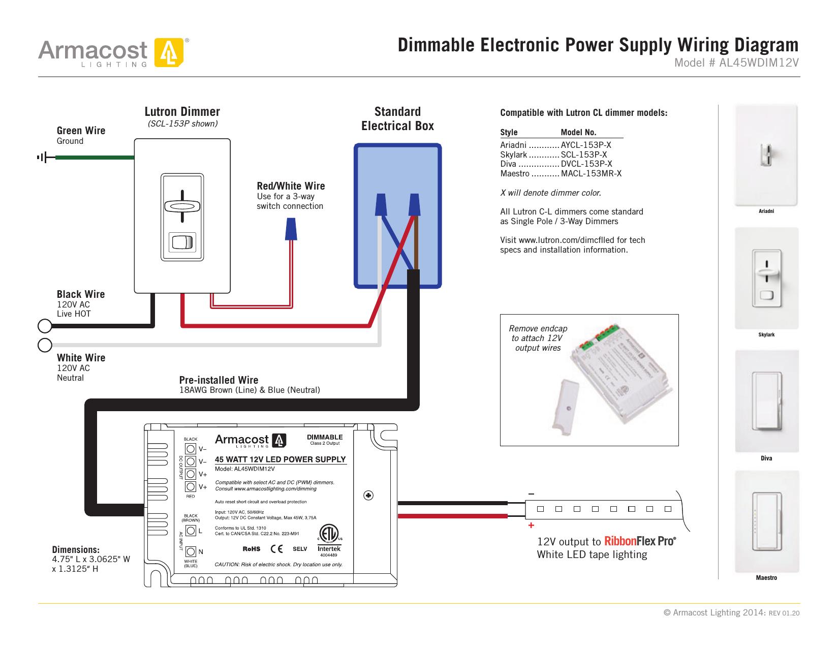 Lutron Multi Location Dimmer Wiring Diagram | Wiring Library - Lutron Maestro Wiring Diagram