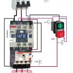 Magnetic Contactor Wiring Diagram   Data Wiring Diagram Schematic   Contactor Wiring Diagram