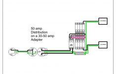 Male 30 Amp Rv Plug Wiring Diagram | Manual E-Books – 50 Amp To 30 Amp Rv Adapter Wiring Diagram