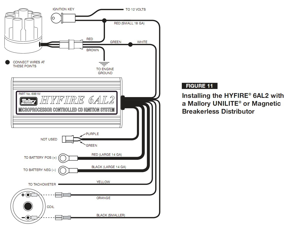 Mallory Marine Distributor Wiring Diagram from annawiringdiagram.com