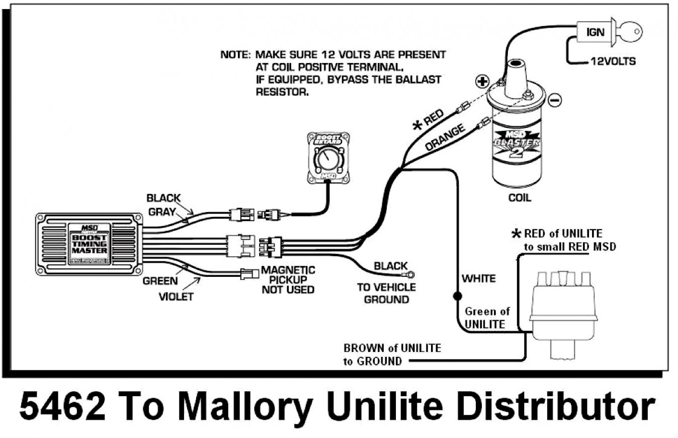 Mallory Promaster Wiring Diagram - Wiring Diagram Data - Distributor Wiring Diagram