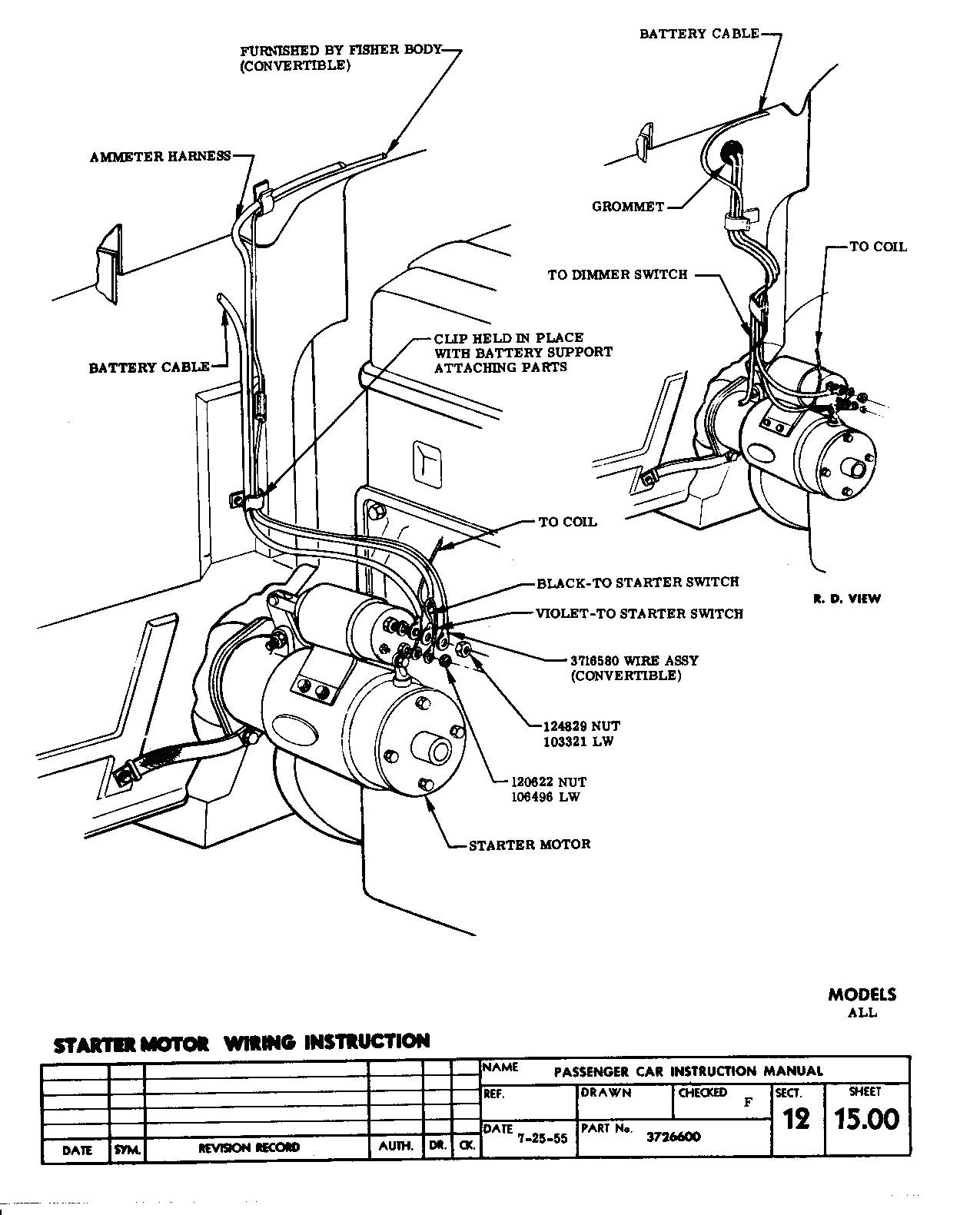 Marine Starter Solenoid Wiring Diagram New Chevy Hei Of 10 8 - Hei Wiring Diagram
