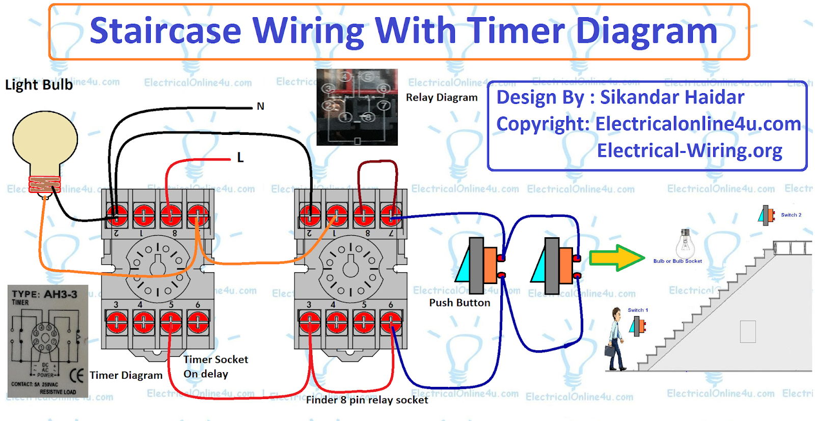 Mars Time Delay Relay Wiring Diagram | Manual E-Books - Time Delay Relay Wiring Diagram