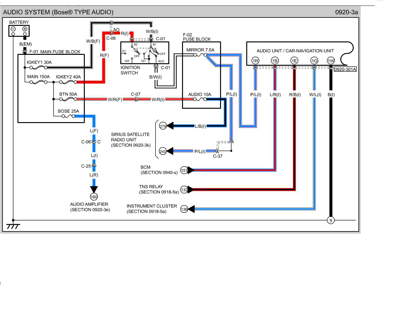 Mazda Wiring Diagrams Mazda Radio Wiring Diagram Wiring Diagrams And - Cat 6 Wiring Diagram