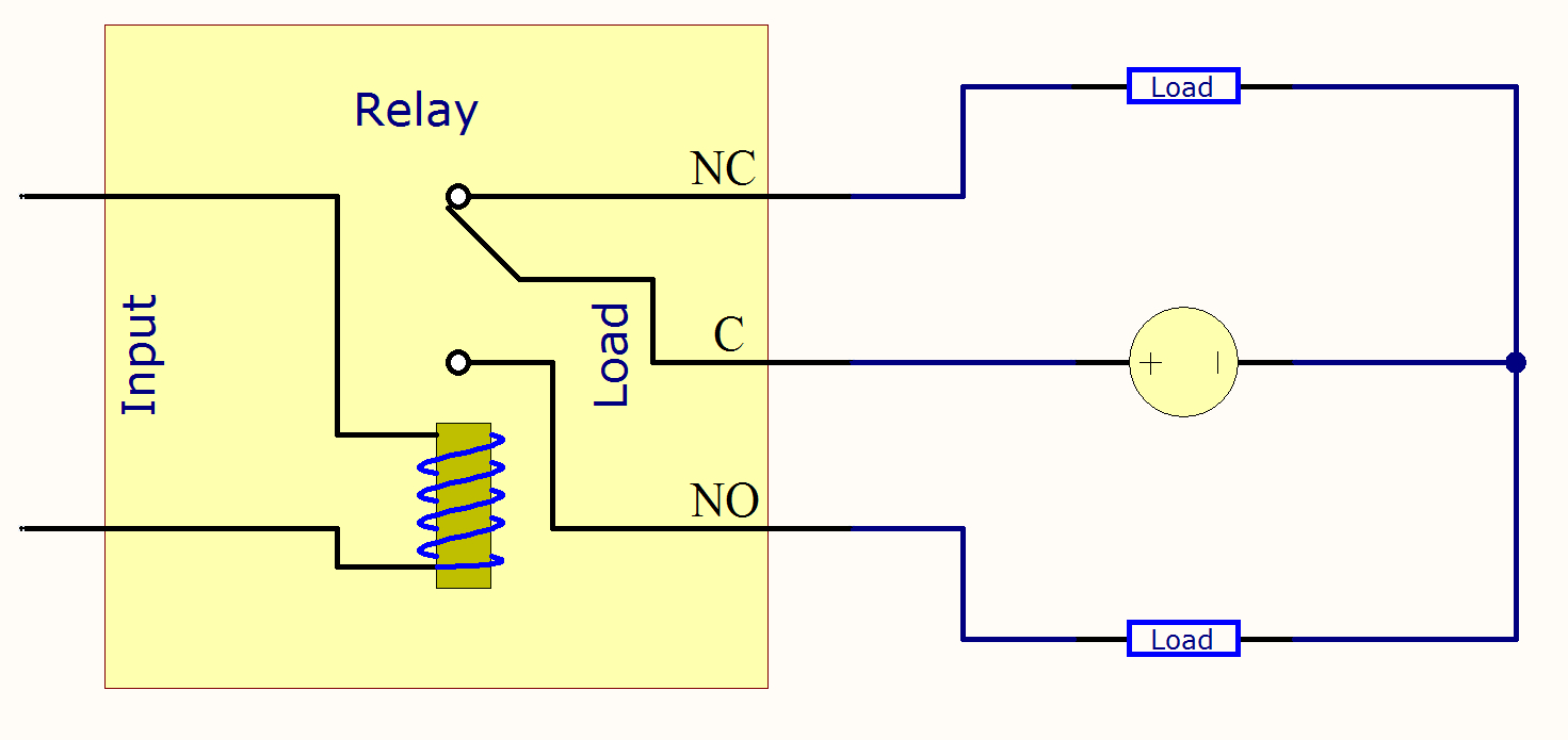 Mechanical Relay Primer - Phidgets Support - Relay Switch Wiring Diagram