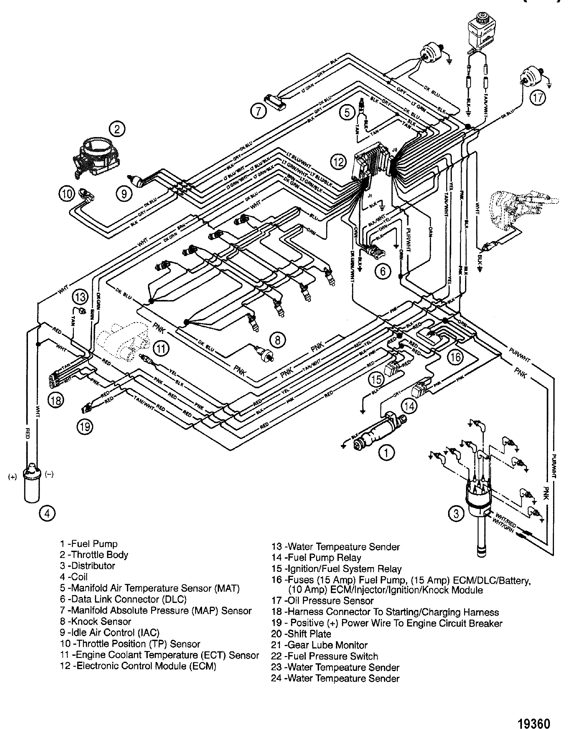 Mercruiser 350 Wiring Diagram - Great Installation Of Wiring Diagram • - Mercruiser 5.7 Wiring Diagram