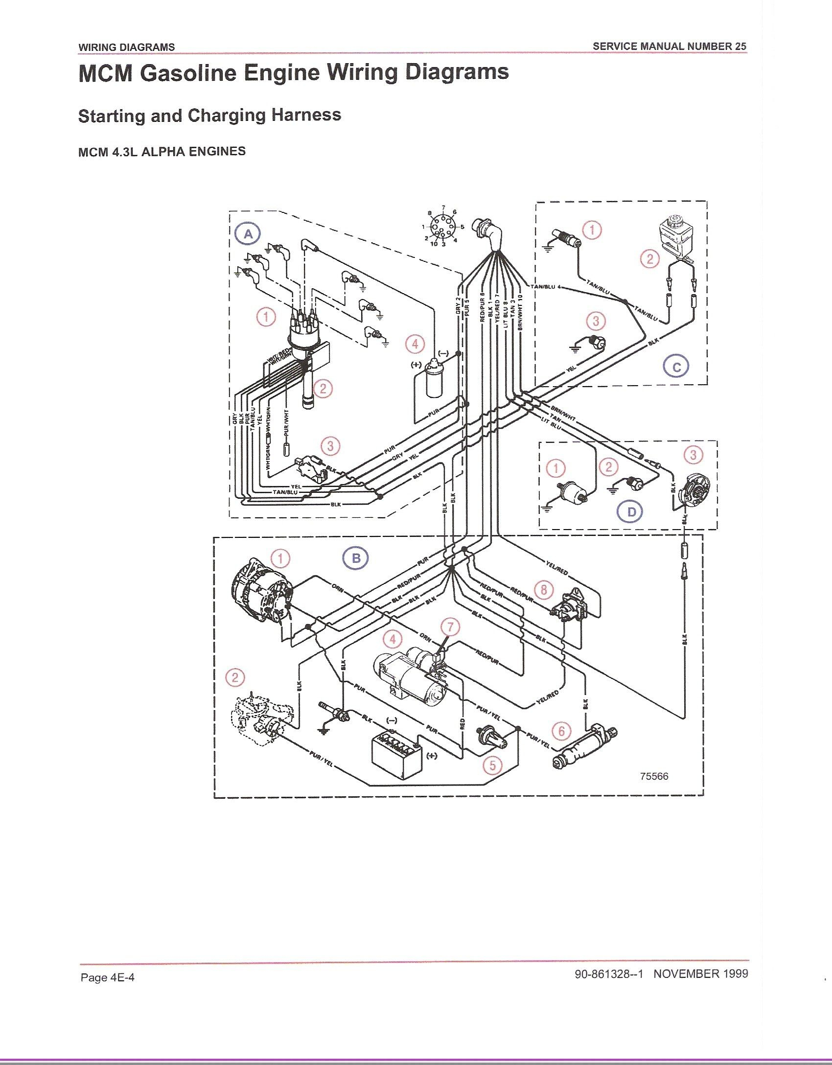 Mercury Thunderbolt Ignition Wiring Diagram - All Kind Of Wiring - Mercruiser Ignition Wiring Diagram