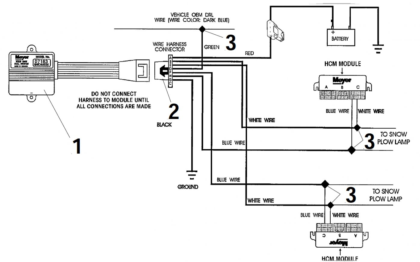Meyer E 60 Snow Plow Wiring Diagram | Manual E-Books - Meyers Snow Plow Wiring Diagram E47