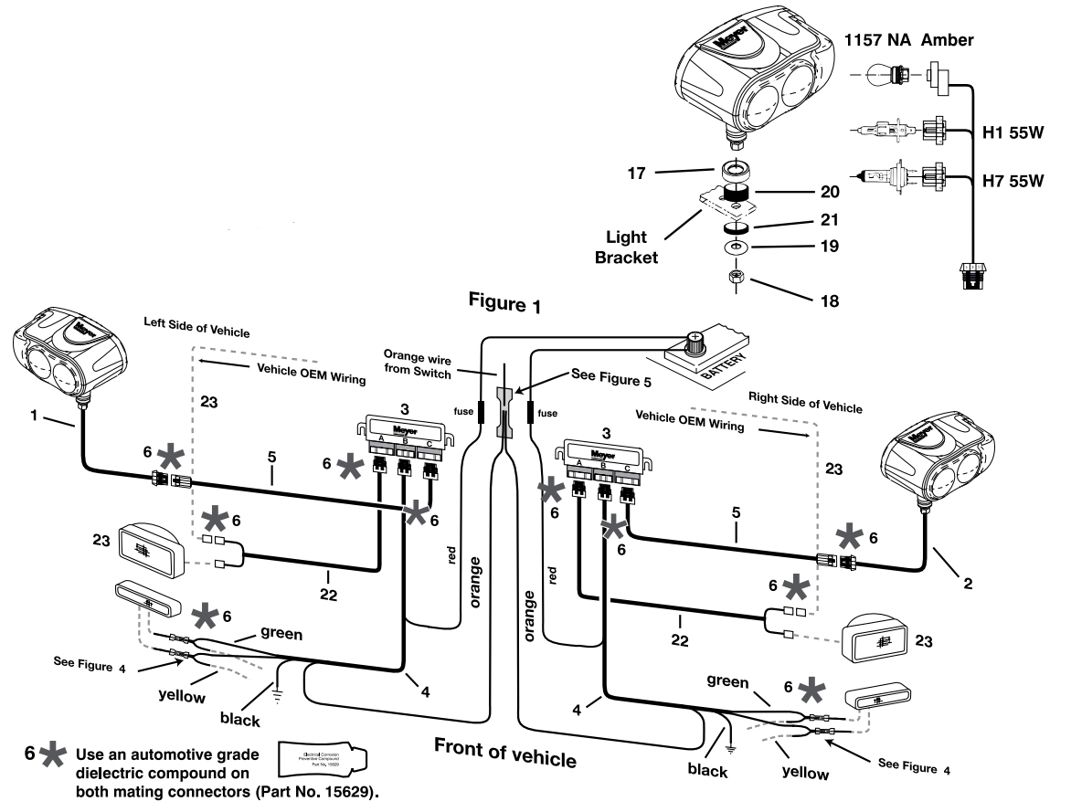 Meyer Snow Plow Lights Wiring Diagram For Meyers Plows At 15B 1 - Meyer Snow Plow Wiring Diagram