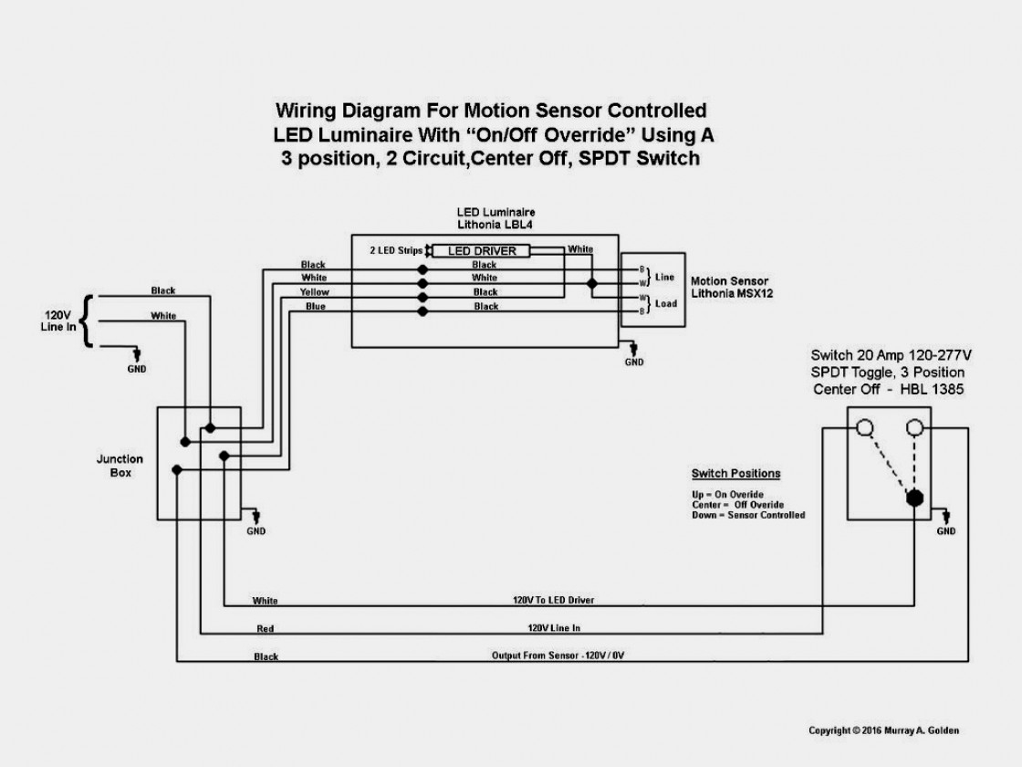 Motion Sensor 2Wire Install Diagram - Wiring Diagrams Top - Motion Sensor Light Wiring Diagram