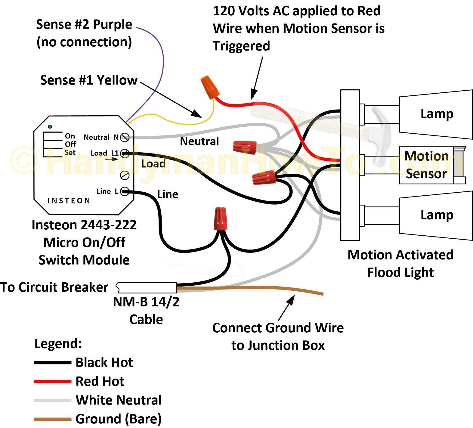 Motion Sensor Wiring Diagram 3 Way | Wiring Diagram - 3 Way Motion Sensor Switch Wiring Diagram