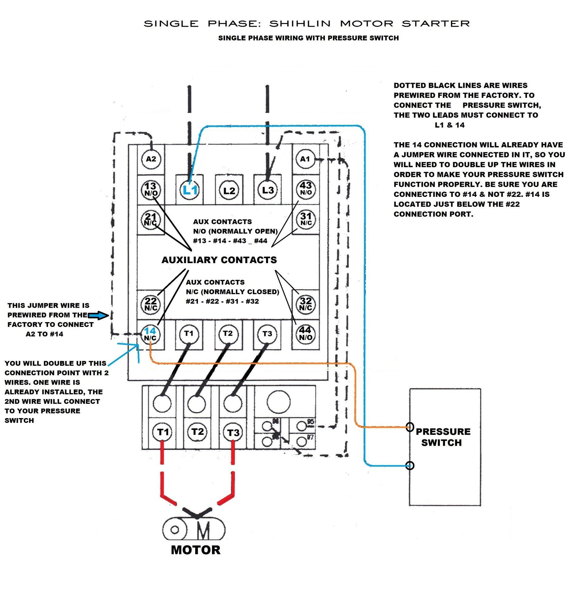 Motor Starter Wiring - Wiring Diagram Data - Motor Starter Wiring Diagram