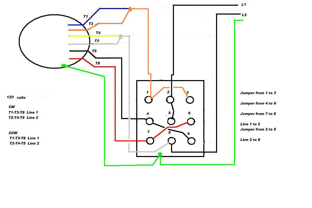 Motor Wiring Diagrams 3 Phase 6 Wire | Manual E-Books - 3 Phase Motor Wiring Diagram 6 Wire
