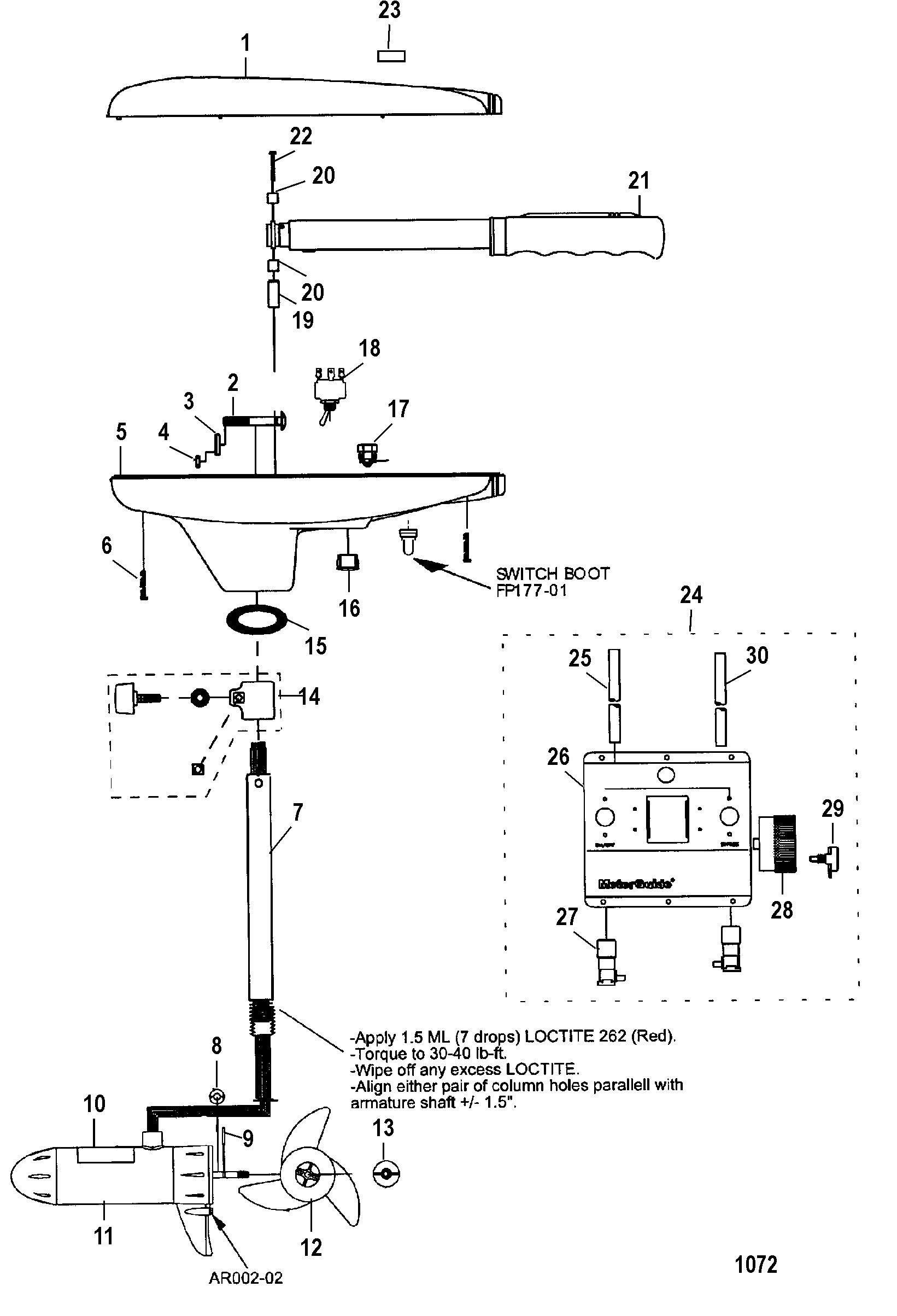 Motorguide 24 Volt Trolling Motor Wiring Diagram - 24 Volt Trolling Motor Wiring Diagram