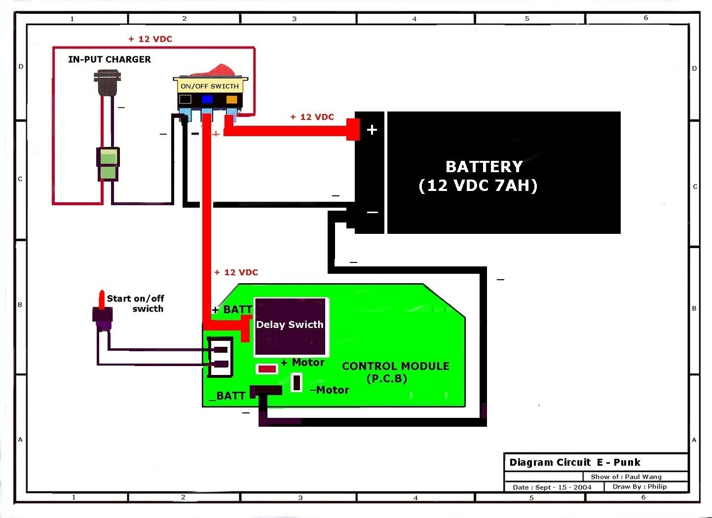 Motorized Bicycle Wiring Diagram | Autowiringdiagram - Motorized Bicycle Wiring Diagram