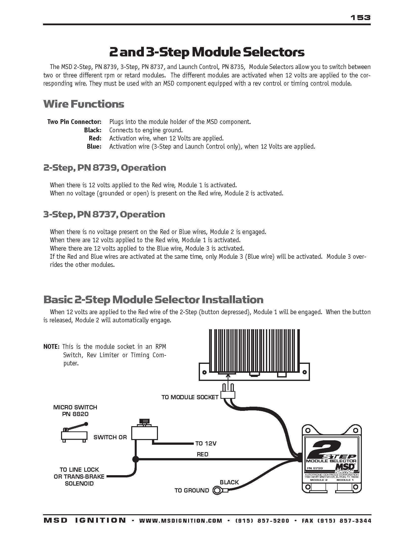 Msd 2 Step Wiring Diagram | Manual E-Books - Msd 2 Step Wiring Diagram