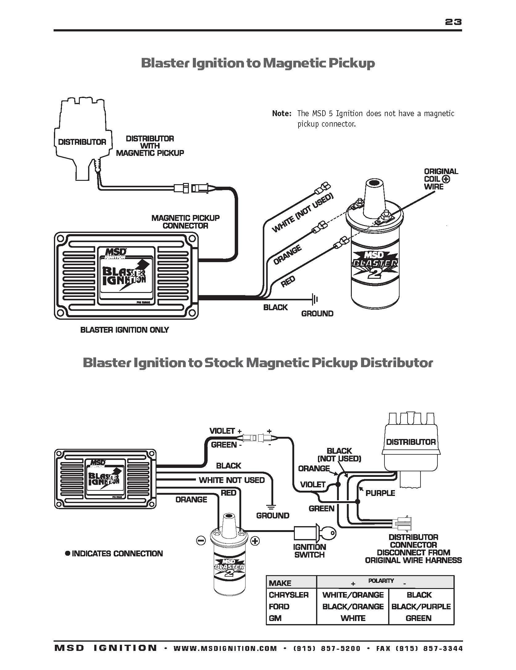 28 Msd 6al Wiring Diagram Ford