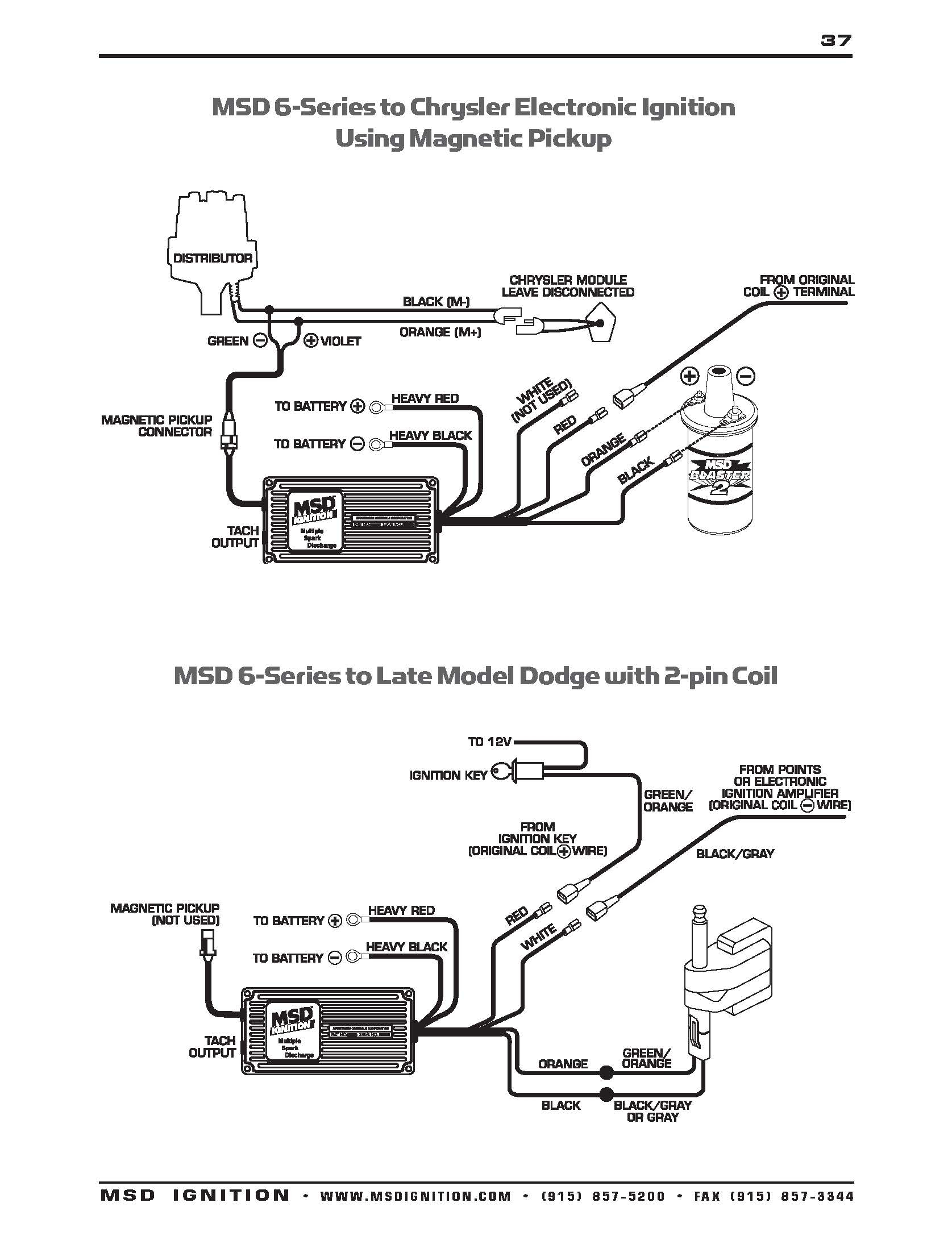 Msd 6Al Wire Diagram | Manual E-Books - Msd 6Al Wiring Diagram
