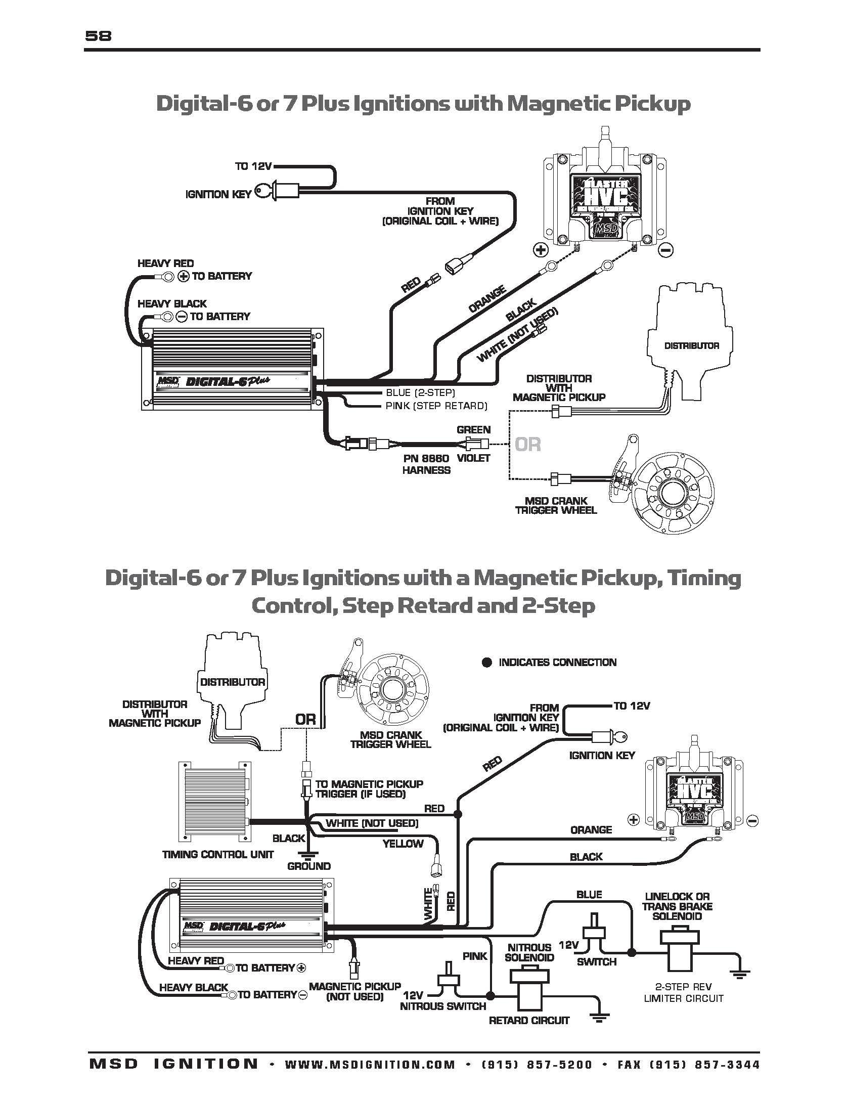 Msd Digital 6A Wiring Harness - Wiring Diagrams Hubs - Msd Digital 6Al Wiring Diagram