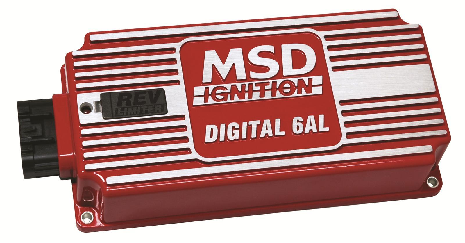 Msd Digital 6Al Ignition Controllers 6425 - Free Shipping On Orders - Msd Digital 6Al Wiring Diagram