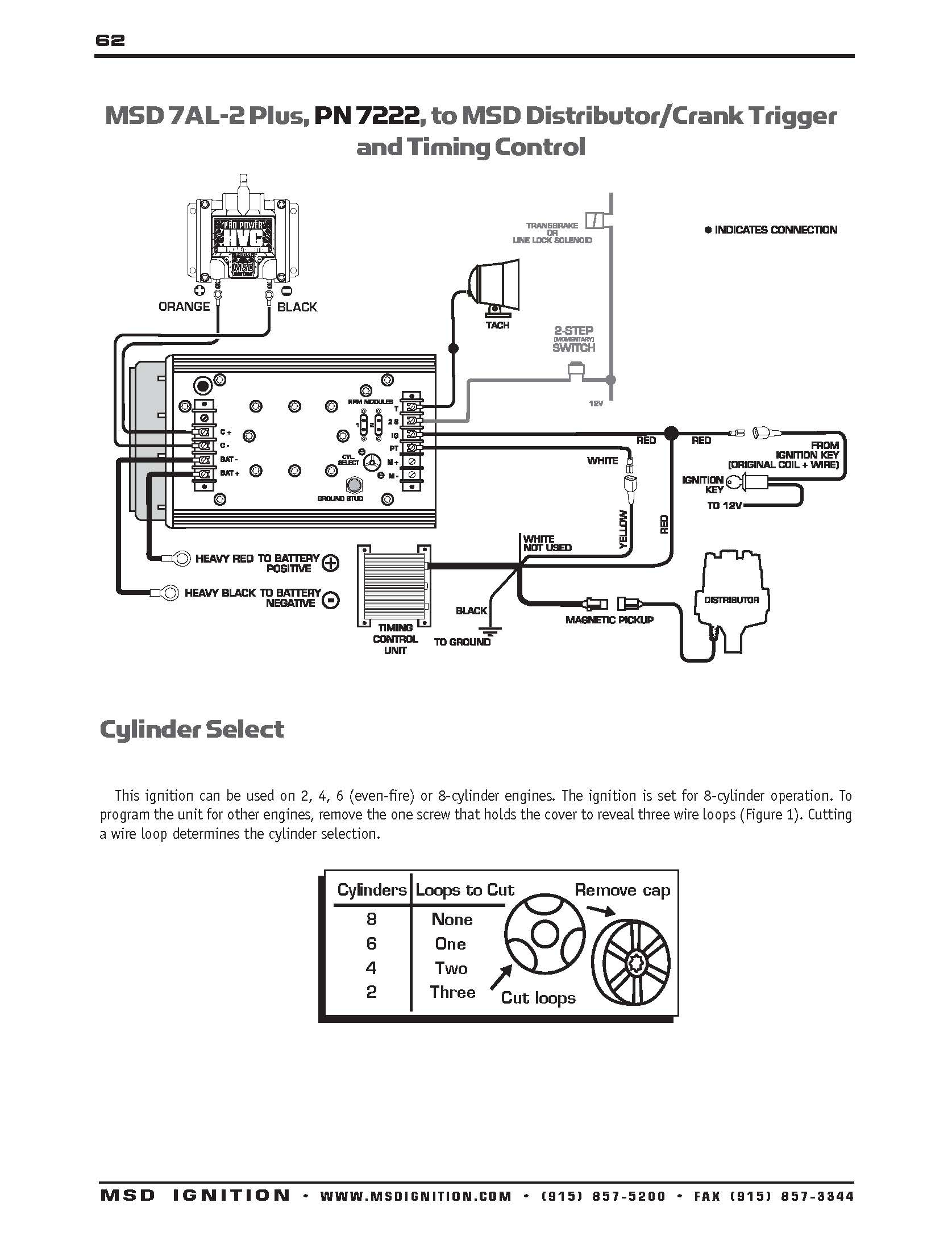 Msd Distributor Wiring Diagram - Wiring Diagram Blog - Msd Distributor Wiring Diagram
