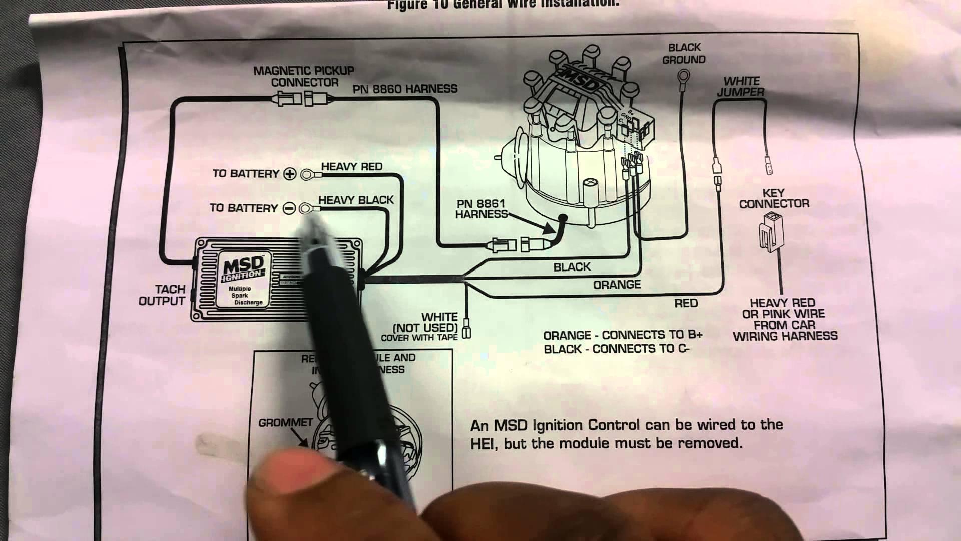 Msd Ignition Box Wiring Diagram - Motherwill - Msd Ignition Wiring Diagram Chevy