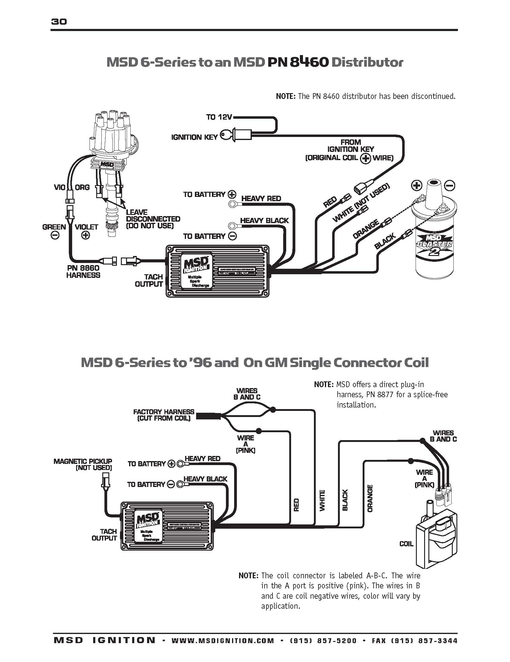 Msd Wiring Diagram - Wiring Diagrams Hubs - Msd Ignition Wiring Diagram