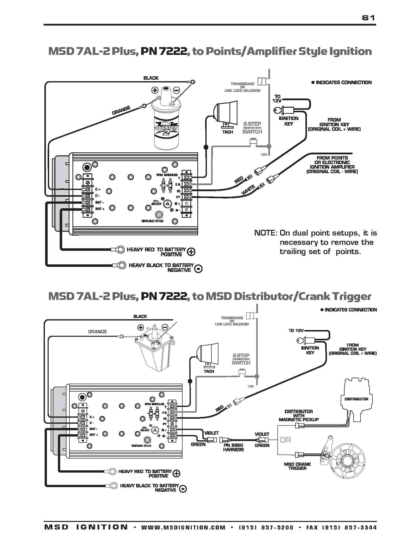 Msd Wiring Diagrams – Brianesser - Msd Ignition Wiring Diagram