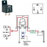 Multiple 12V Relay Wiring Diagram | Wiring Diagram   12 Volt Relay Wiring Diagram