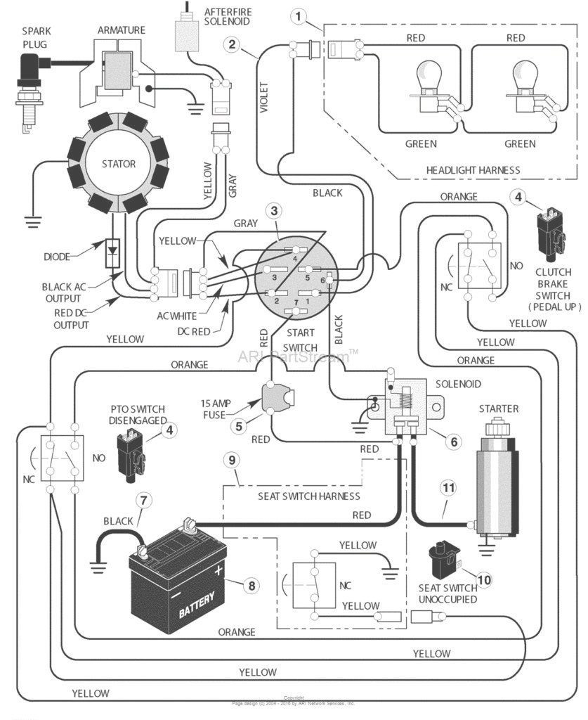 Riding Lawn Mower Ignition Switch Wiring Diagram from annawiringdiagram.com