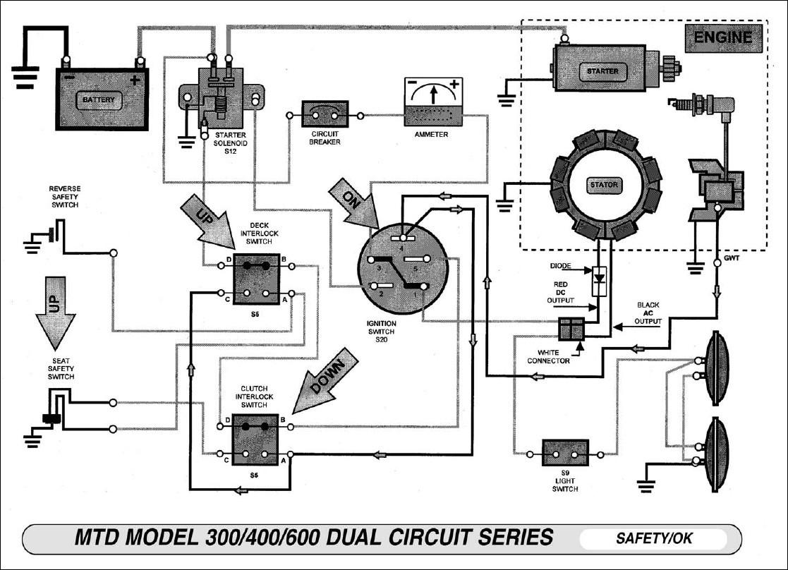 Murray Lawnmower Starter Craftsman Riding Mower Ignition Switch Co - Riding Lawn Mower Ignition Switch Wiring Diagram