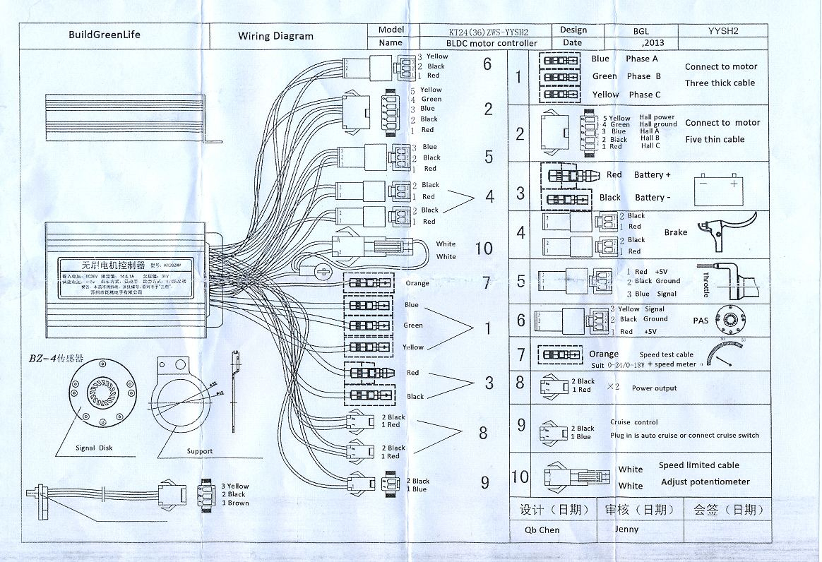 Mxus Controller Wiring Diagram? - Endless Sphere - E Bike Controller Wiring Diagram